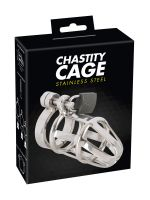Chastity Cage: Peniskäfig, silber