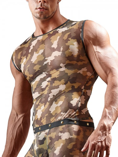 Tanktop, camouflage
