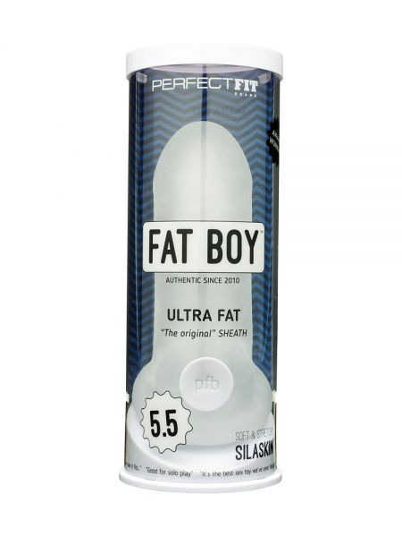 Perfect Fit Fat Boy Ultra Fat 5.5: Penishülle, transparent