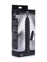 Master Series Power Srew 10x Spiral: Vibrator, schwarz