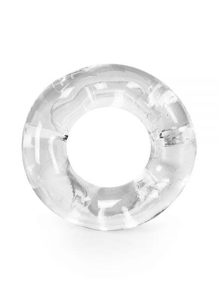 Sport Fucker Revolution Ring: Penis-/Hodenring, transparent