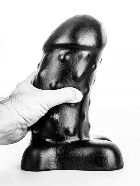 Bubble Toys Mousse: Dildo, schwarz
