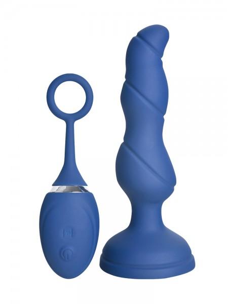 Hot Fantasy Felicity Taio: Anal-Vibrator mit Fernbedienung, blau