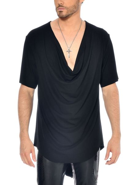 Patrice Catanzaro Jacob: T-Shirt, schwarz