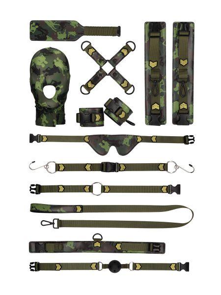 Army Bondage Kit: Fesselset in Tarnfarben