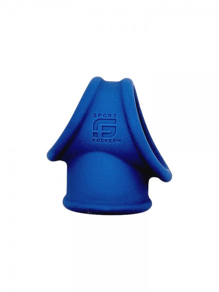 Sport Fucker Cock Tube: Penis-/Hodenring, blau