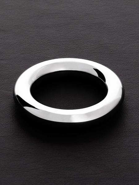 Triune Round Wire C-Ring: Edelstahl-Penisring (10mm breit)