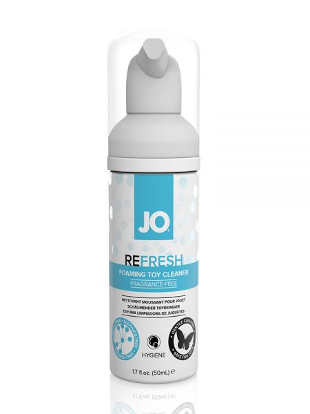 System JO Refresh Foaming: Toy Cleaner (50ml)