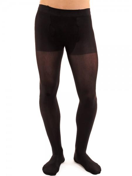 Glamory Microman 100: Herren-Strumpfhose, schwarz