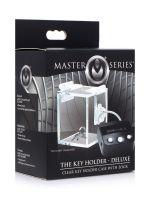 Master Series Key Holder Deluxe Clear Case with Lock: Schlüsselsafe mit Schloss, transparent