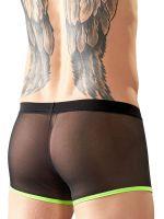 Netz-Pant, schwarz/neongrün