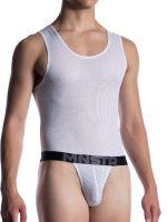 MANSTORE M2051: Tanga Body, weiß