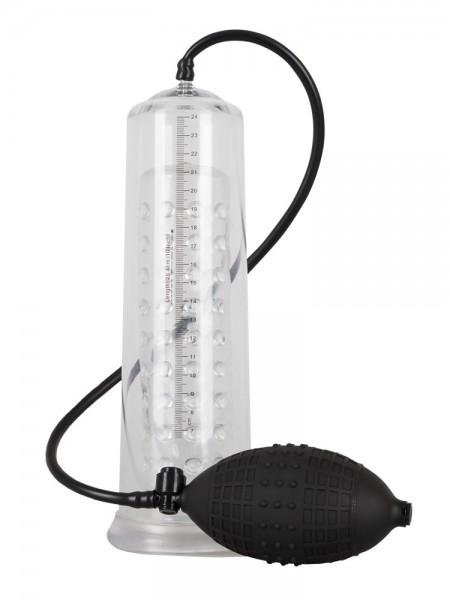 Mister Boner Fantastic Power Pump: Penispumpe, schwarz/transparent