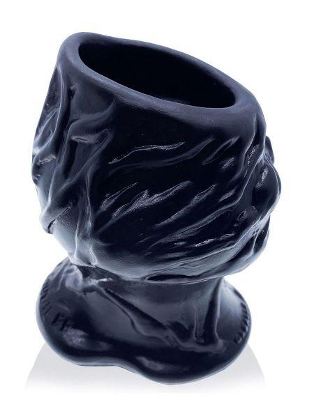 Oxballs Pighole Squeal FF Veiny Hollow Plug: Tunnelplug, schwarz