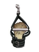 Sportsheets Edge Hand Grip Wrist Cuffs: Leder-Handfesseln, schwarz
