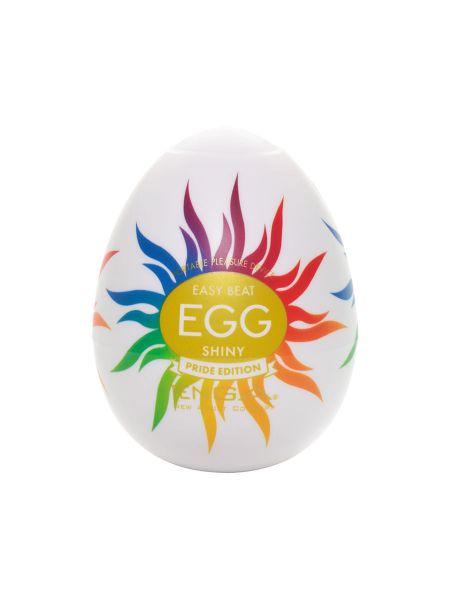 Tenga Egg Shiny Pride Edition: Masturbator, weiß