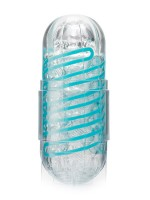 Tenga Spinner 01 Tetra: Masturbator, transparent/blau
