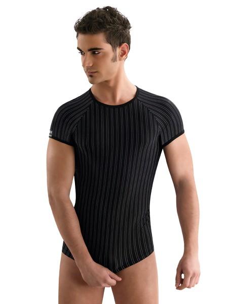 Eros Veneziani Vincenzo: T-Shirt, schwarz