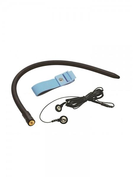 Zeus Amplifier Cock & Ball Strap: Elektro-Harnröhrenvibrator, bipolar