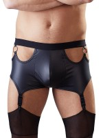 Straps-Pant, schwarz