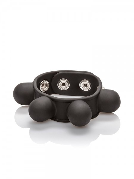 Weighted Ball Stretcher: Hodenstretcher, schwarz