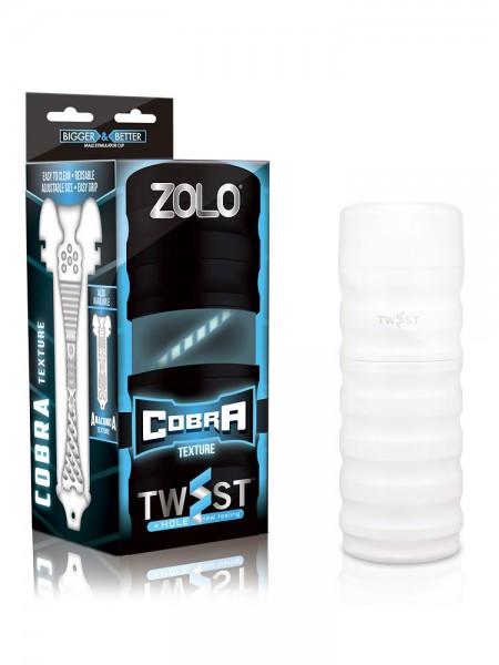Zolo Twist Cobra: Masturbator, weiß