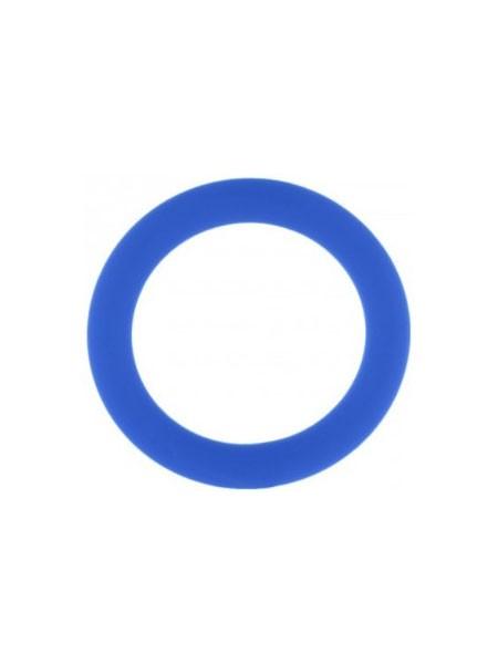 Phallus-Fessel M: Penisring, blau