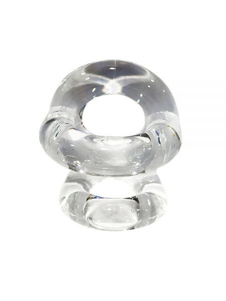 Sport Fucker Fucker Ring: Penis-/Hodenring, transparent