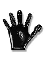 Finger Fuck: Penetrationshandschuh, schwarz