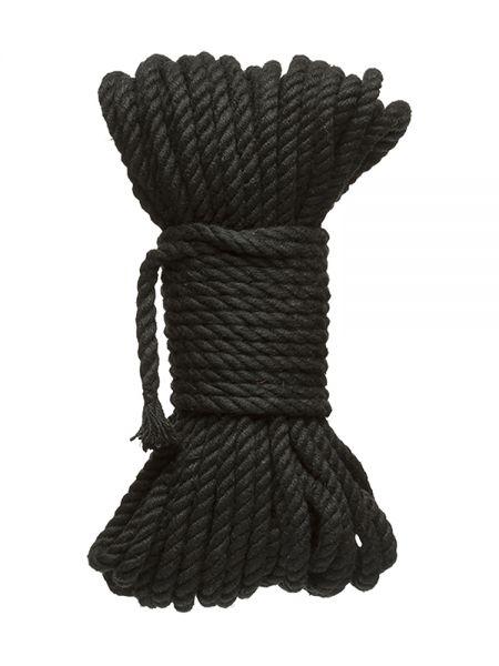 Kink Bind & Tie Bondage Rope: Bondageseil (15 m), schwarz