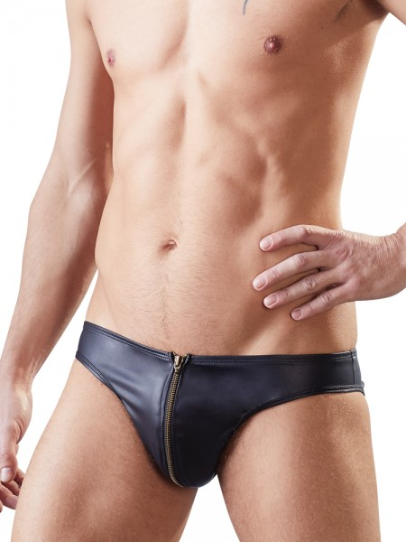 Jock-Brief, schwarz
