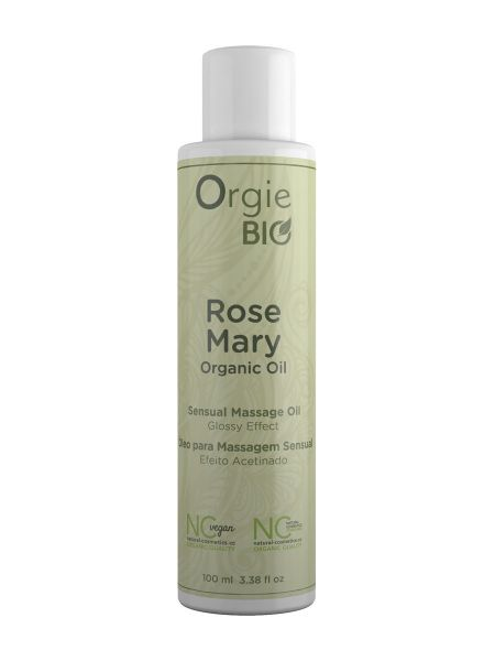 Orgie Bio Rosemary Organic Oil: Massageöl Rosmarin (100ml)