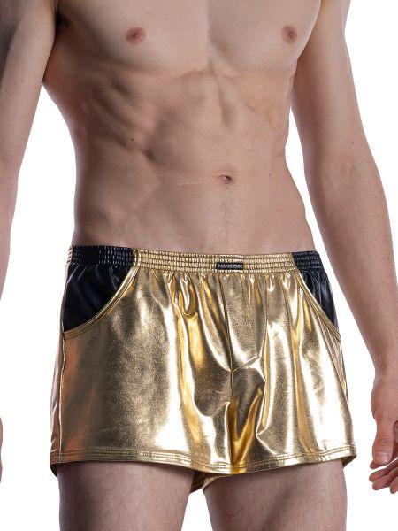 MANSTORE M2011: Grope Short, gold