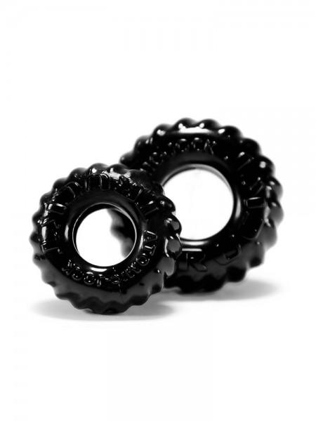 Truckt: Penisringe-Set, schwarz