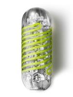 Tenga Spinner 03 Shell: Masturbator, transparent/gelb