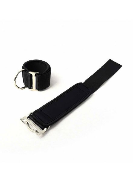 Neoprene Universal Restraints: Fesseln, schwarz/schwarz