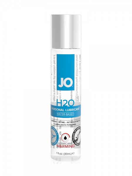 System JO H2O Waterbased Warming: Gleitgel (30ml)