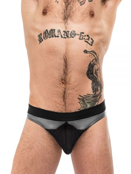 Male Power Iron Clad: Bikini Brief, grau